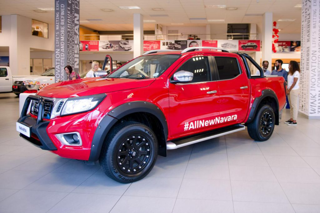 all new nissan navara launch event at cmh nissan durban. Black Bedroom Furniture Sets. Home Design Ideas