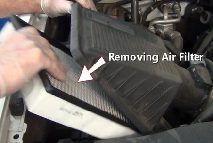Removing Air Filter