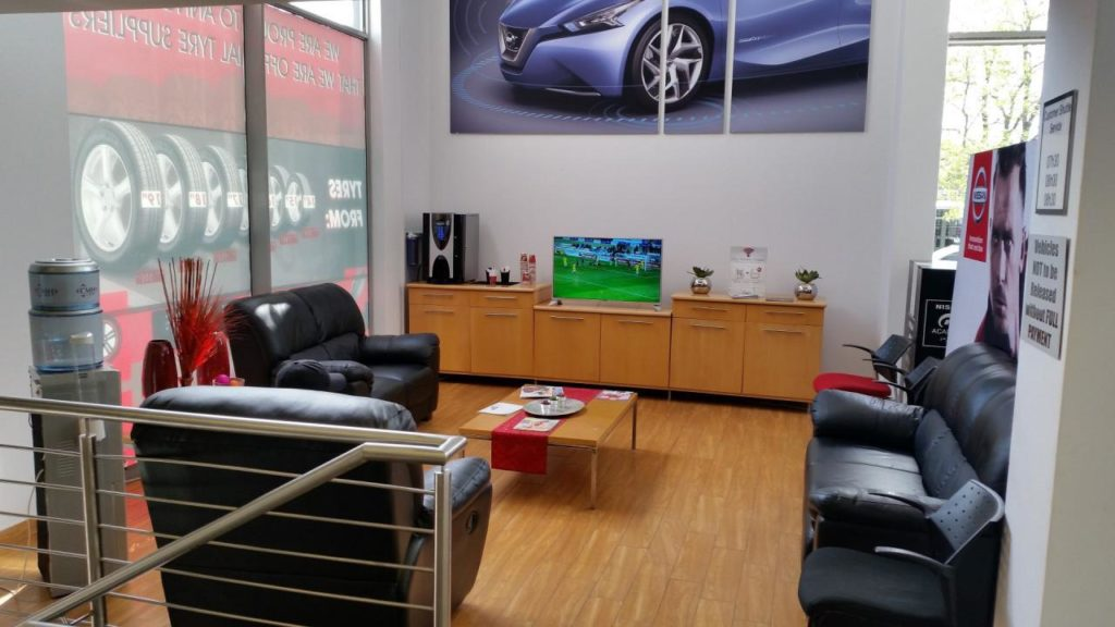 CMH Nissan Midrand Workshop