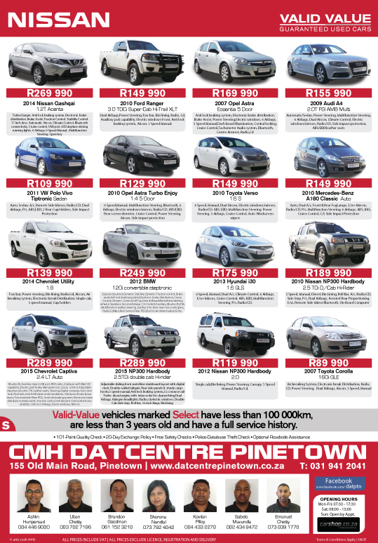 CMH Nissan Pinetown Advert of The Week