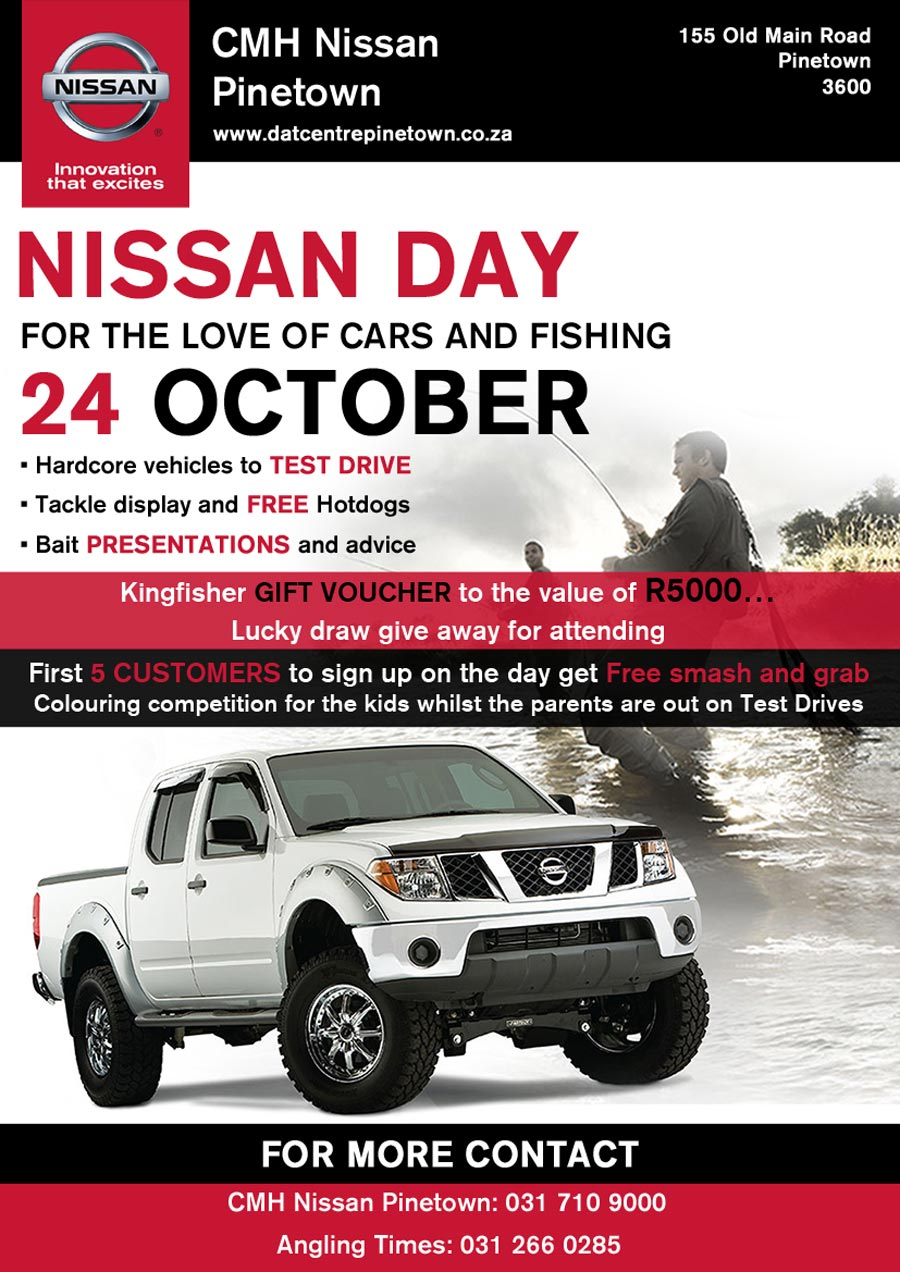 CMH Nissan Pinetown Nissan Day
