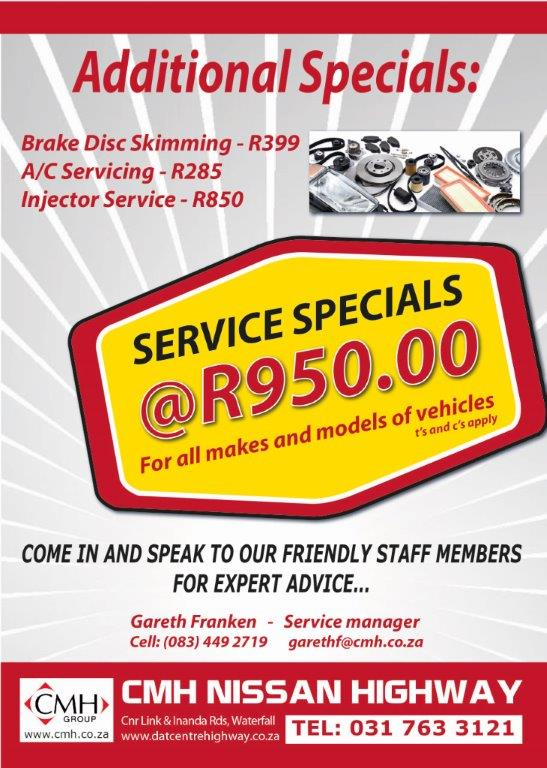 Festive Season Specials Nissan Highway Advert