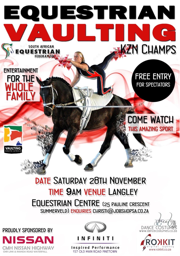 Nissan Highway Equestrian Vaulting KZN Champs