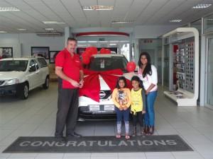 CMH Nissan Highway Customer Delivery December