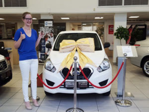 Emily Newbold. CMH Nissan Pinetown