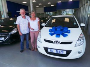 Mr and Mrs Bishop CMH Nissan Pinetown