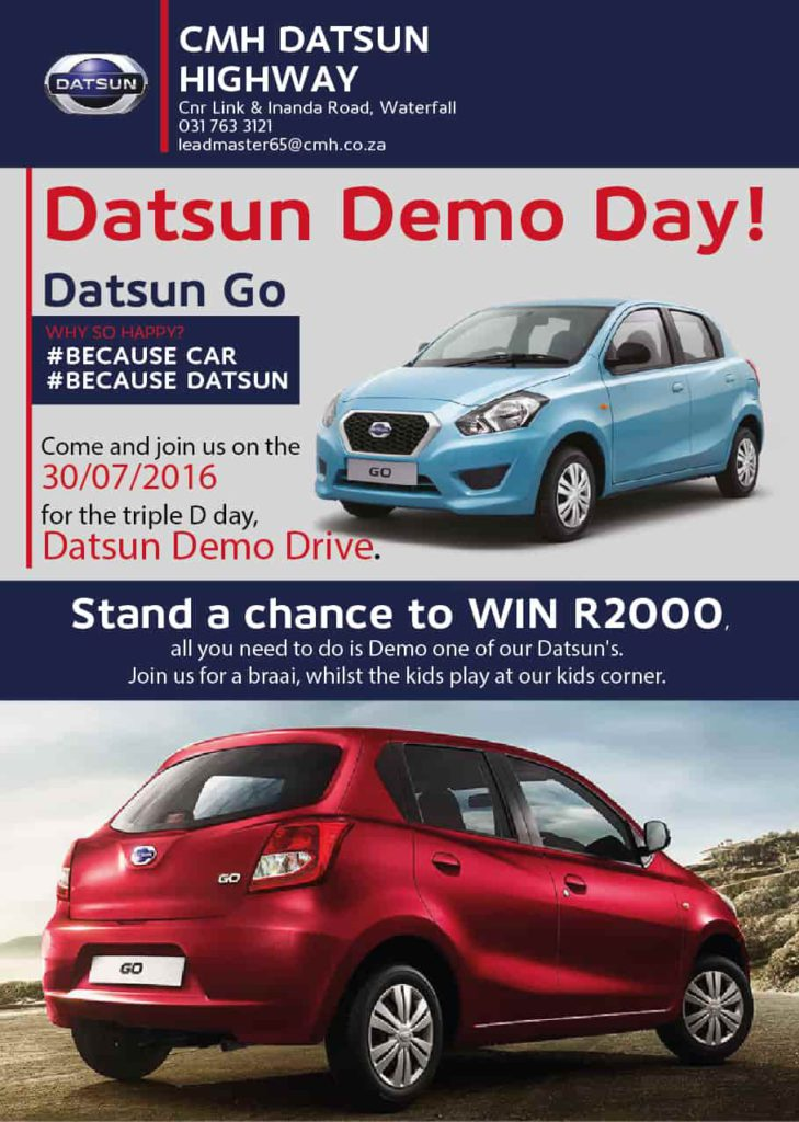 Datsun Demo Day