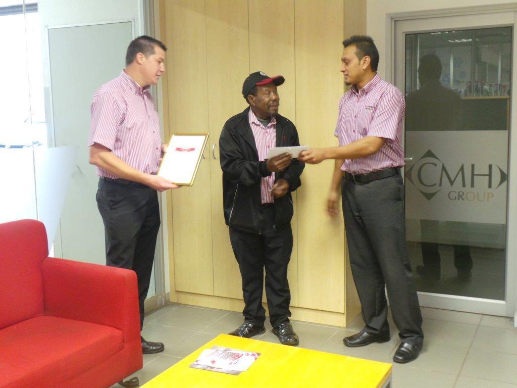 CMH Long Service Award
