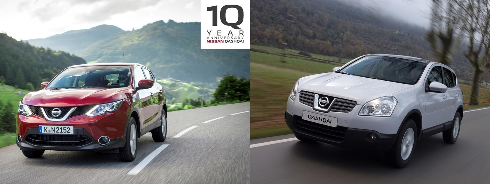 10 Years of Nissan Qashqai