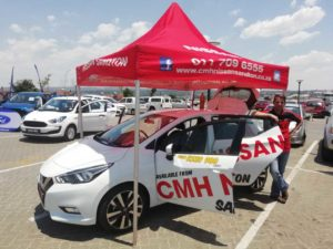 CMH Nissan Sandton- New Nissan Micra White