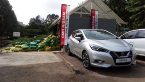 CMH Nissan Highway- New Silver Nissan Micra 4