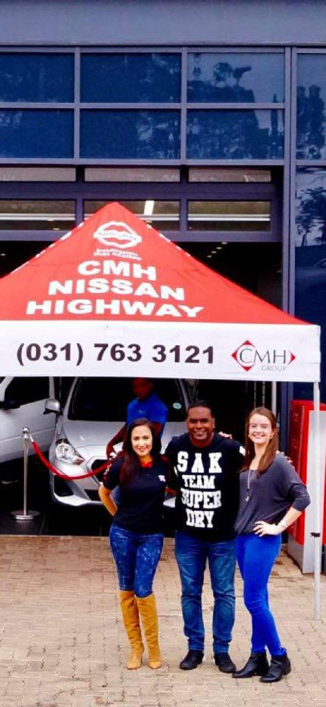 CMH Nissan Hillcrest - part of the premium - KZN Car Dealer - Deon Govender