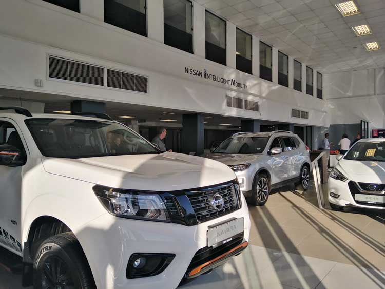 Showroom Dealership Relaunch