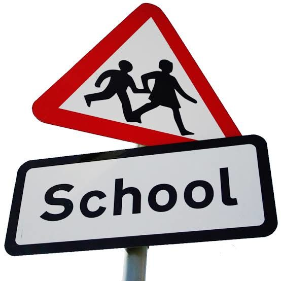 CMH Nissan - school Road sign