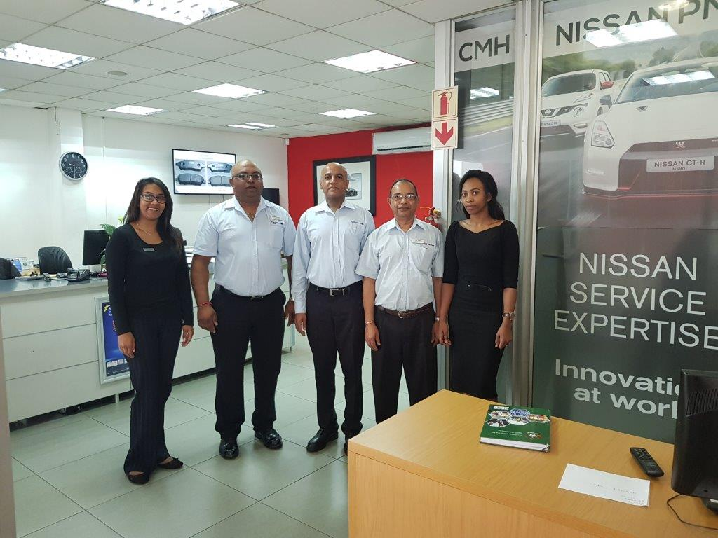 CMH Nissan PMB - Service department