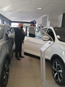 CMH Nissan Sandton - Showroom